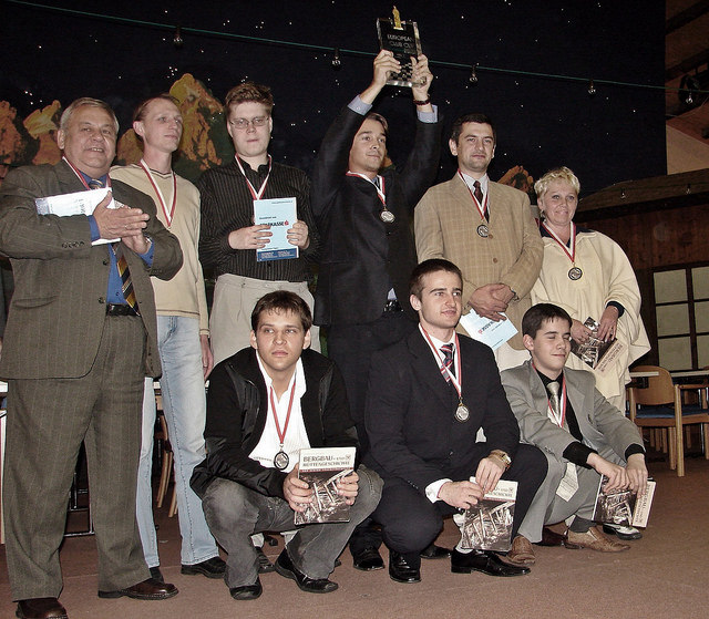 2006 ECU European Chess Club Awards Ceremony Fugen Austria