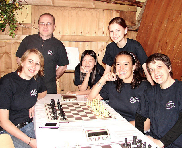 2006 ECU European Chess Club Cup Womens Section Fugen Austria