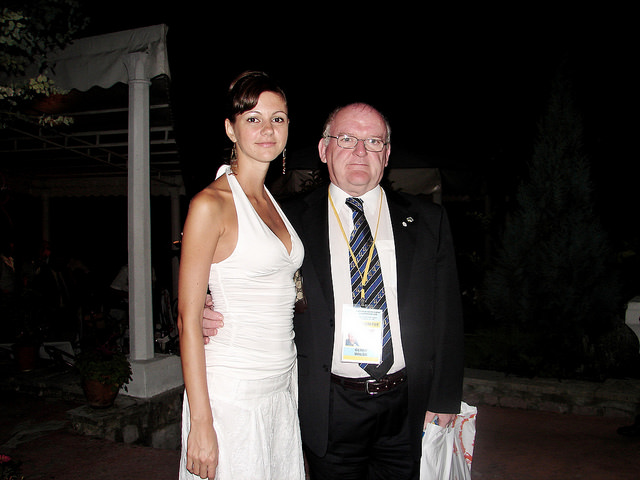 2006 European Youth Chess Championship Reception at The Ivo Andric Mansion, Herceg Novi, Montenegro