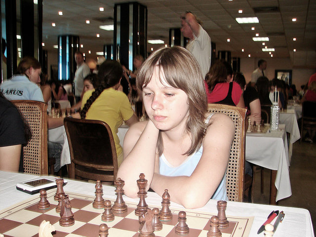 2006 European Youth Chess Championship Round 1 and 2 in Herceg Novi, Montenegro