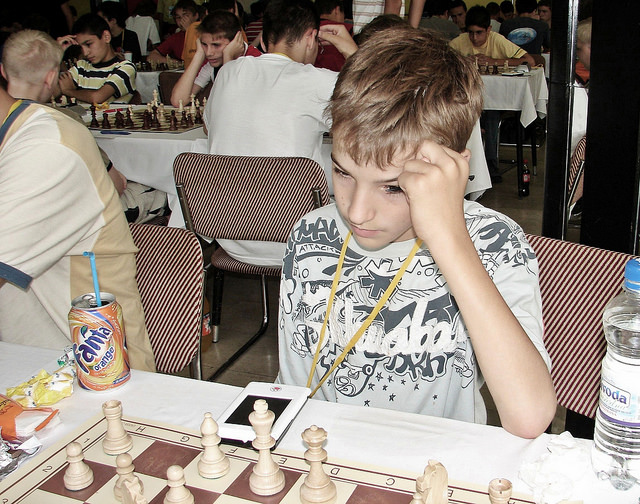 2006 European Youth Chess Championship Round 3 and 4 Herceg Novi, Montenegro