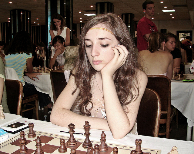 2006 European Youth Chess Championship Round 5 and 6 in Herceg Novi, Montenegro
