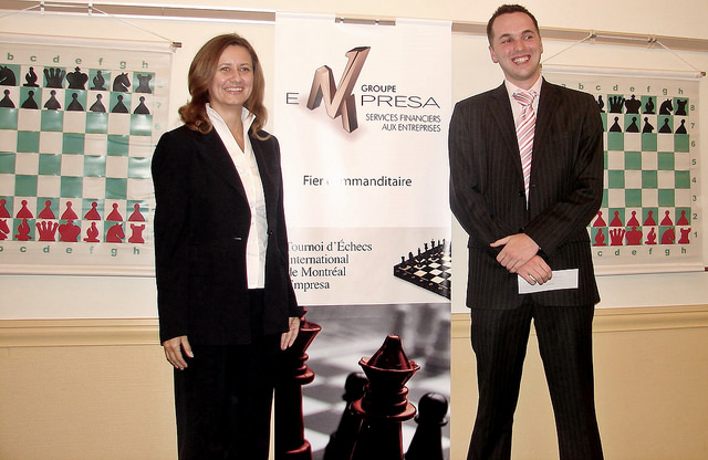 2006 Montreal Empresa Chess Tournament Awards Ceremony and Blitz Tournament Quebec, Canada