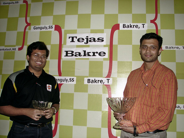 2006 Pune Rapid and Open Chess Championships Awards Ceremony Pune India