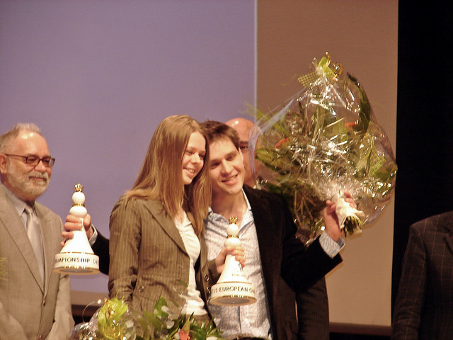2007 European Individual Chess Championship Closing Ceremony Dresden Germany