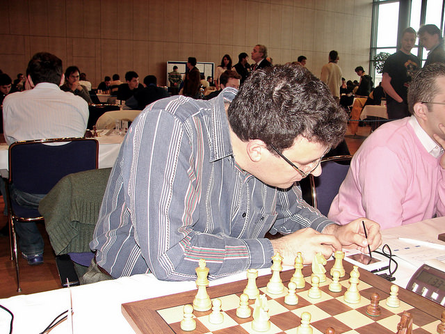 2007 European Individual Chess Championship Men's Section Dresden Germany