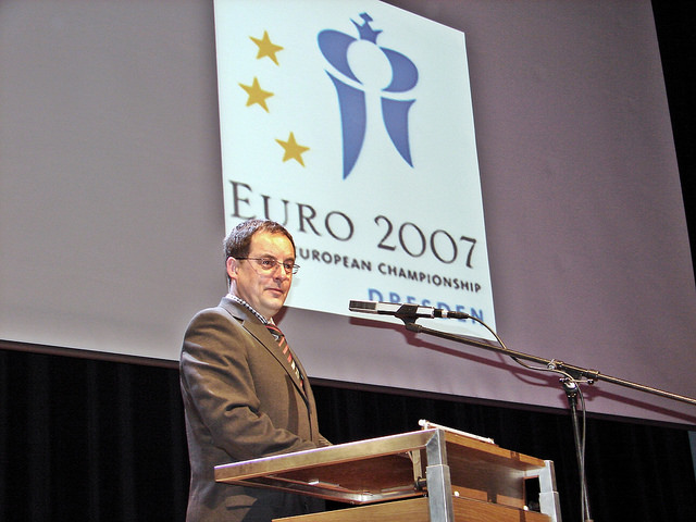 2007 European Individual Chess Championship Preparations and Opening Ceremony Dresden Germany