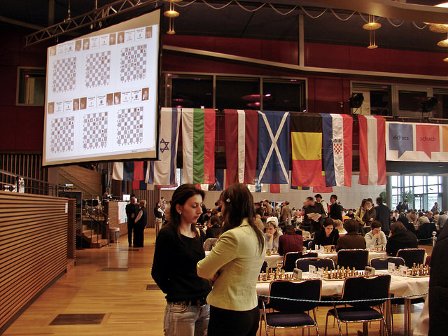 2007 European Individual Chess Championship Women's Section 2 Dresden Germany