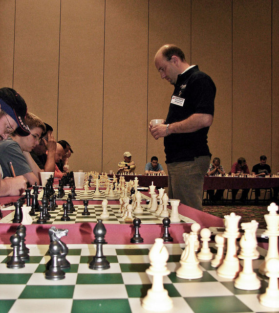 2007 Las Vegas International Chess Festival Alex Shabalov Simul Las Vegas Nevada USA