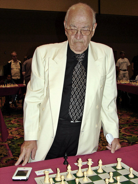 2007 Las Vegas International Chess Festival Viktor Korchnoi and Walter Browne Simul Las Vegas Nevada USA