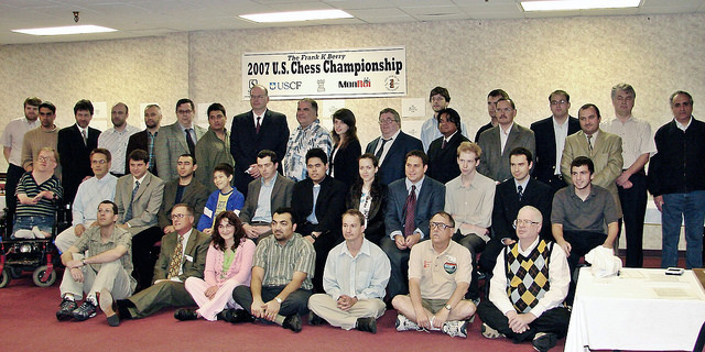 The Frank K Berry 2007 US Chess Championship Round 1 and 2 Stillwater Oklahoma USA