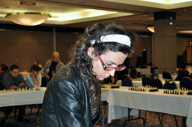 2009 Canadian Open Chess Championship - Irina Krush Simul
