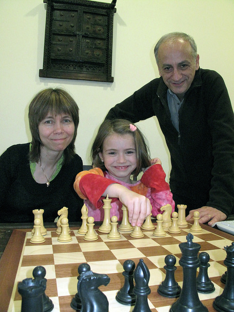 2009 GibTelecom Chess Festival Bellon-Cramling Family and Socko Family