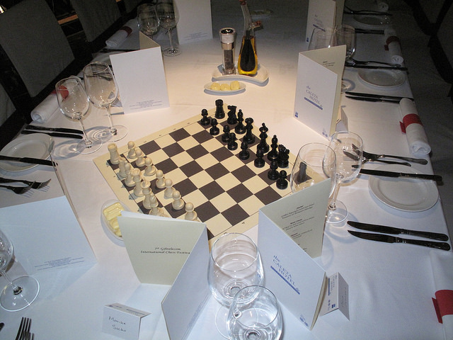 2009 GibTelecom Chess Festival Player's Dinner