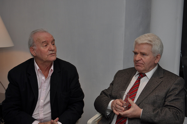 2010 GibTelecom Chess Festival Challengers and Amateurs Awards with Boris Spassky and Brian Callaghan