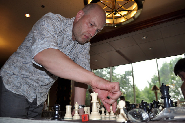 2010 Canadian Open Chess Championship Alex Shabalov Simul and Josh Friedel Simul