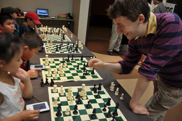 2010 Canadian Open Chess Championship Luke McShane and Merab Gagunashvili Chess Camp