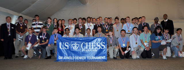 2010 Denker Chess Championship Opening Ceremony