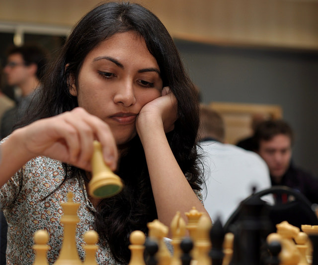 2011 Tradewise Gibraltar Chess Festival Players from Norway and India
