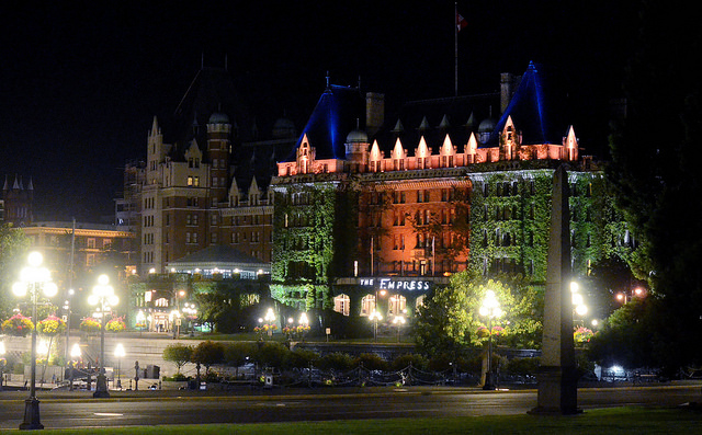 2012 Canadia Open Chess Championship Victoria At Night