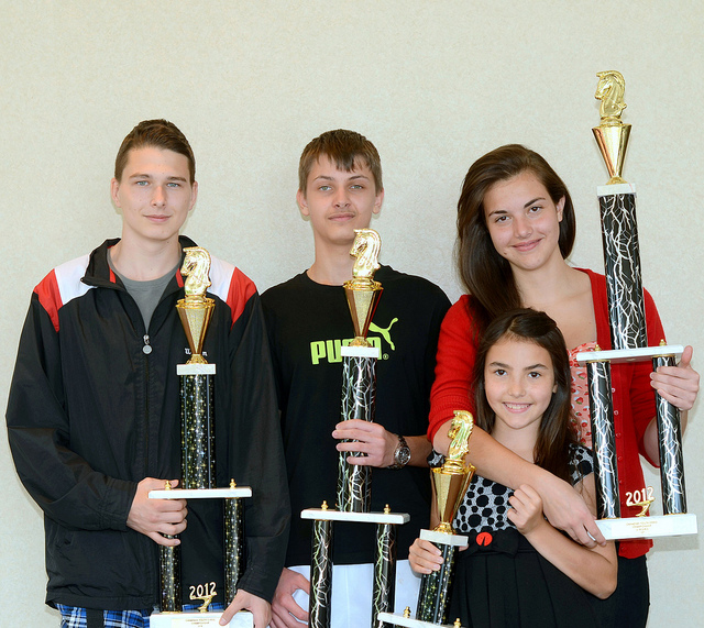 2012 Canadian Youth Chess Championship Awards
