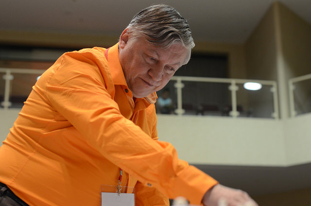 2012 Las Vegas International Chess Festival Anatoly Karpov Simul