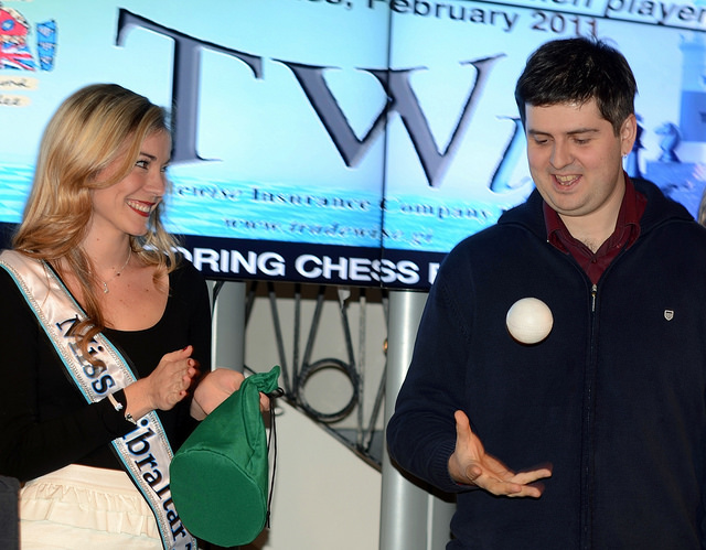 2012 Tradewise Gibraltar Chess Festival Opening Ceremony, Caleta Hotel